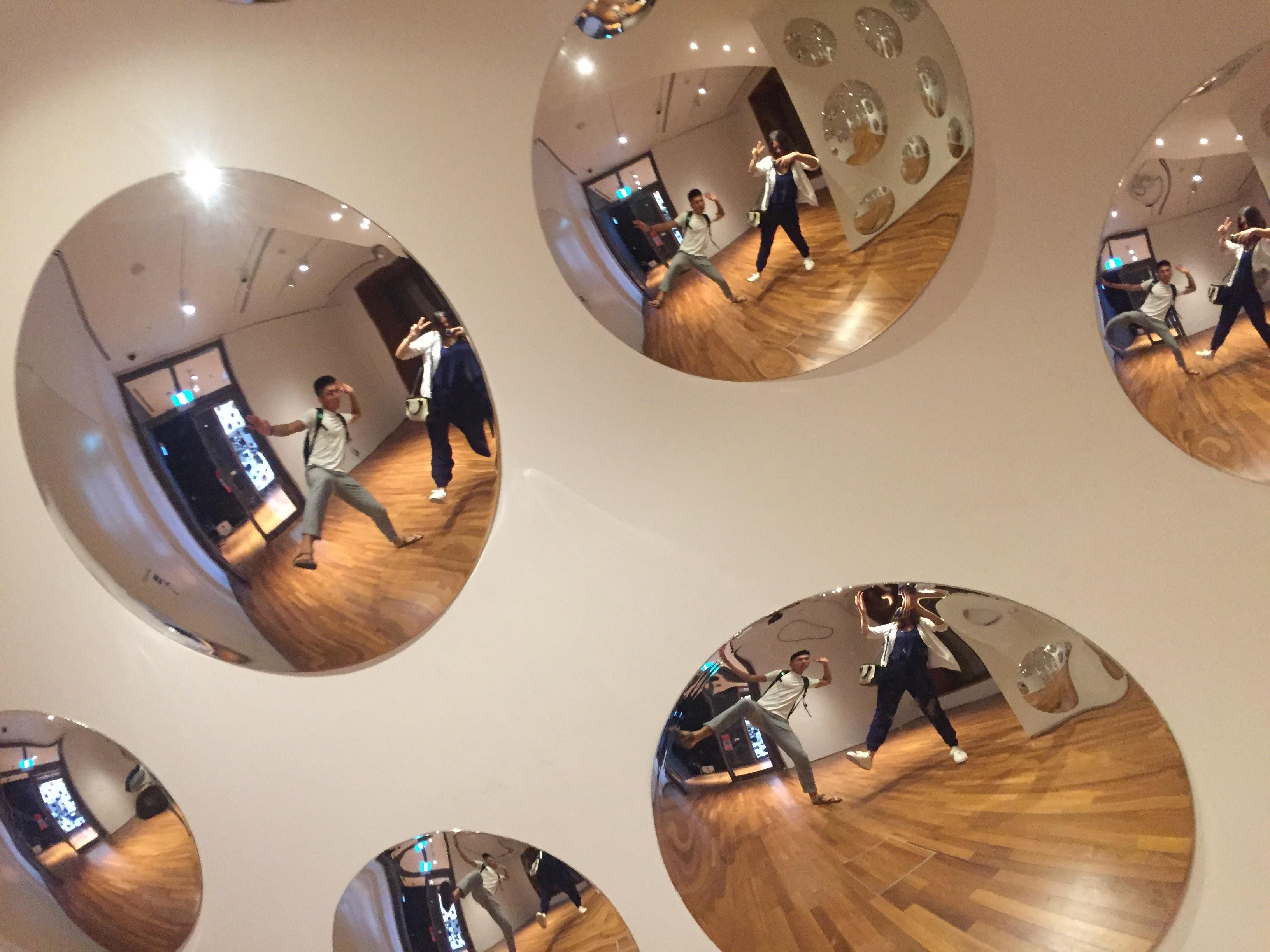 必拍景點五 : 密集鏡面區。