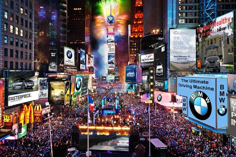 New York Times Square(照片來源:Peter Stevens@Flickr)