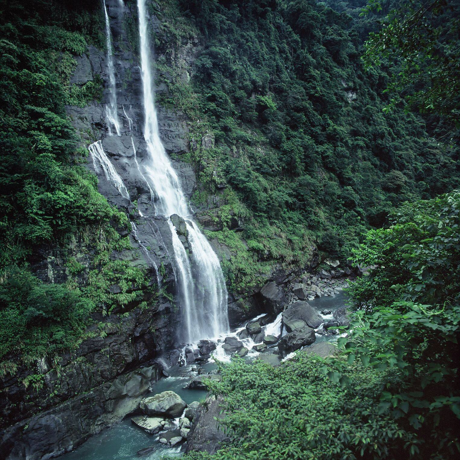 Wulai-Waterfall
