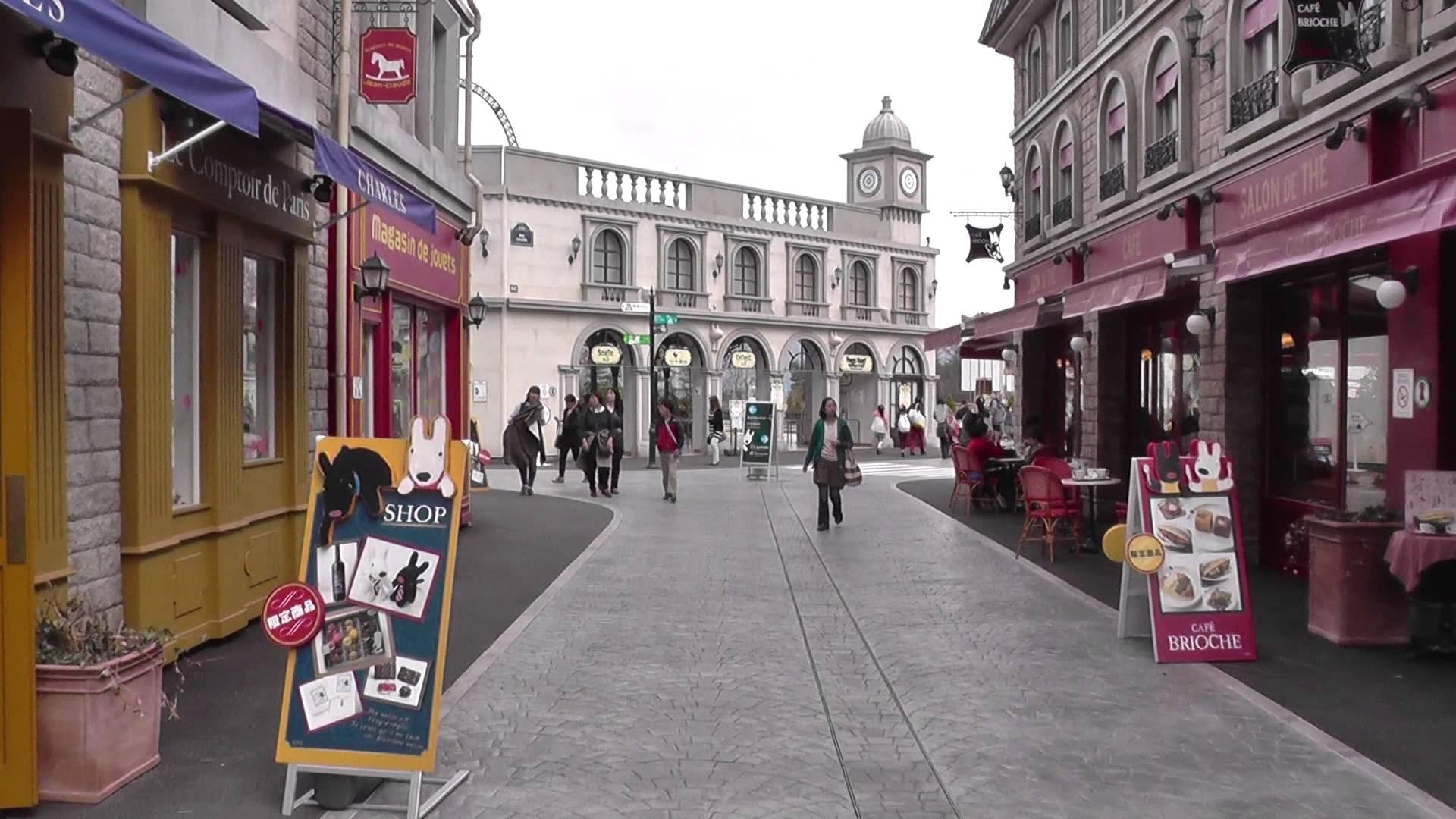 充滿歐風的主題小鎮/ Photo:Youtube