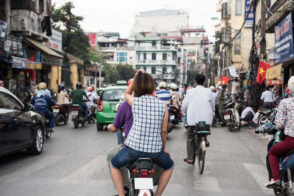 河內交通攻略 : 摩托車