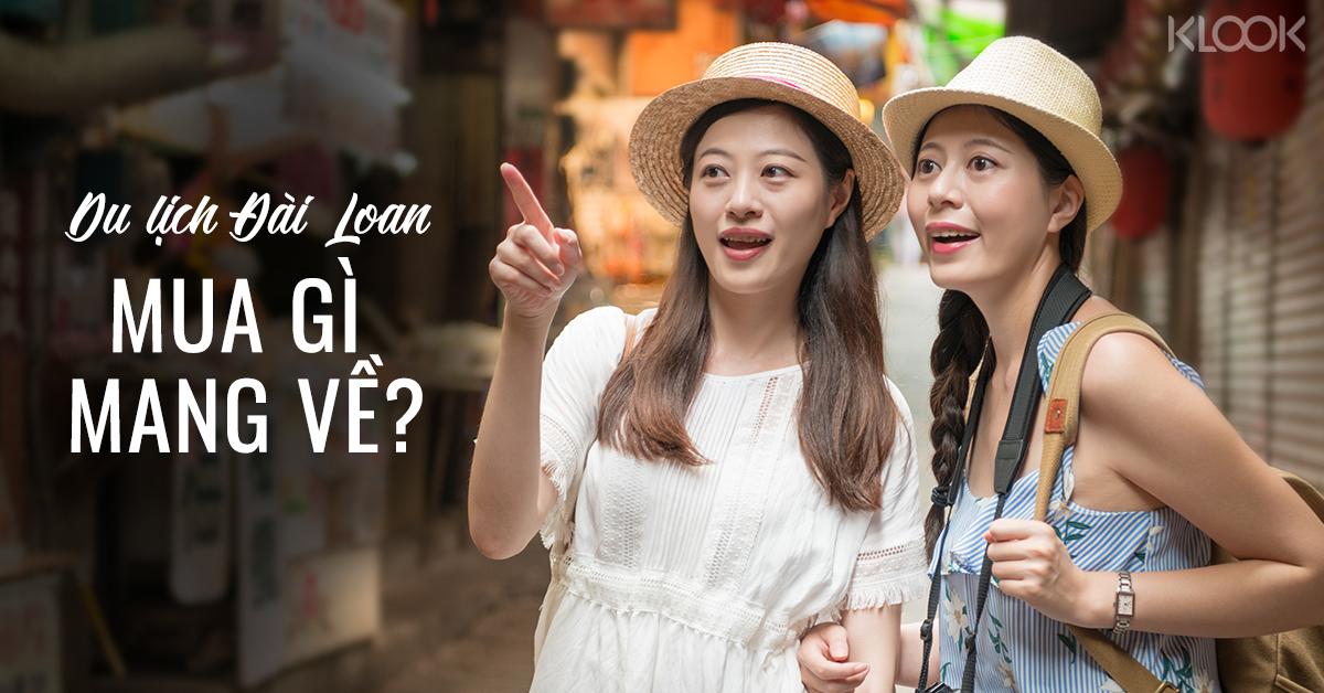 Du lịch Đài Loan mua gì đem về?