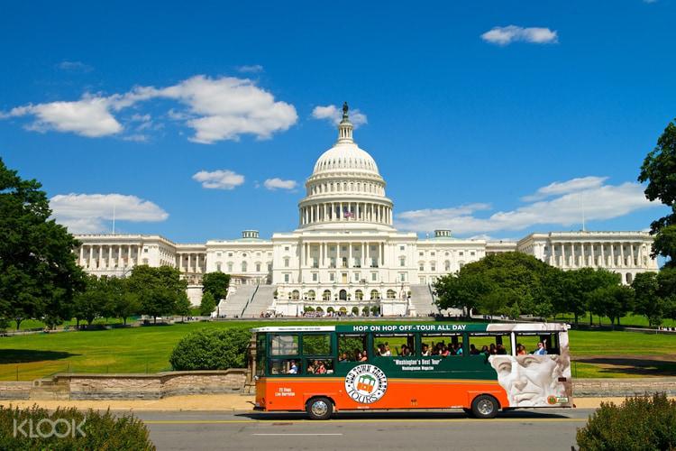 Wisata Trolley Hop On Hop Off Washington Dc Klook