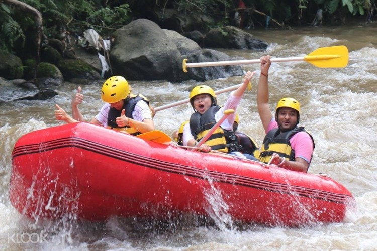 Up To 15 Off Ayung River Rafting Adventure And Bali Swing