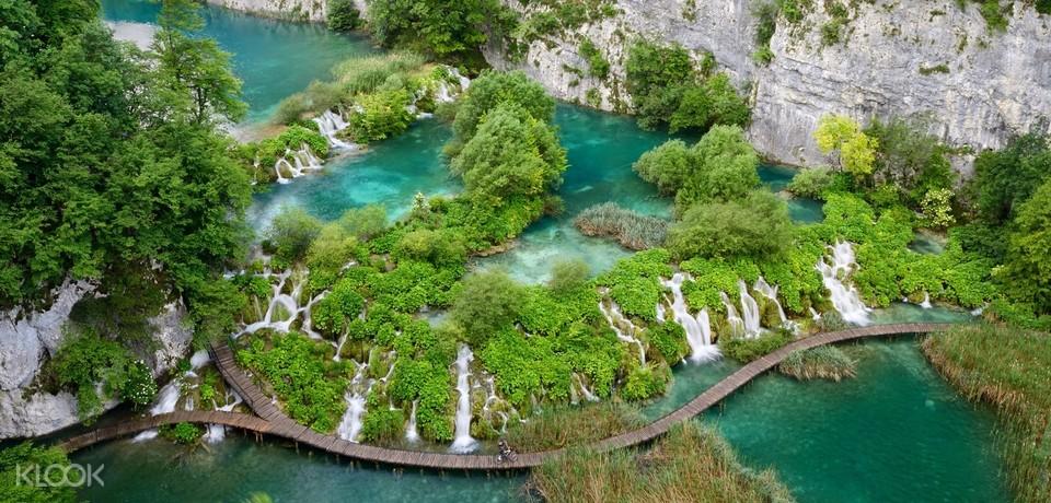 Plitvice Lakes National Park and Rastoke