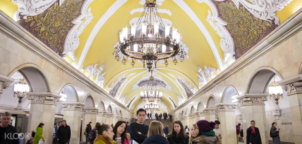 Moscow Underground Metro Tour