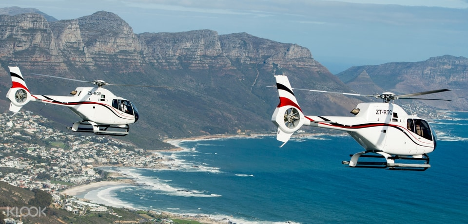 Helicopter Flights in Cape Town