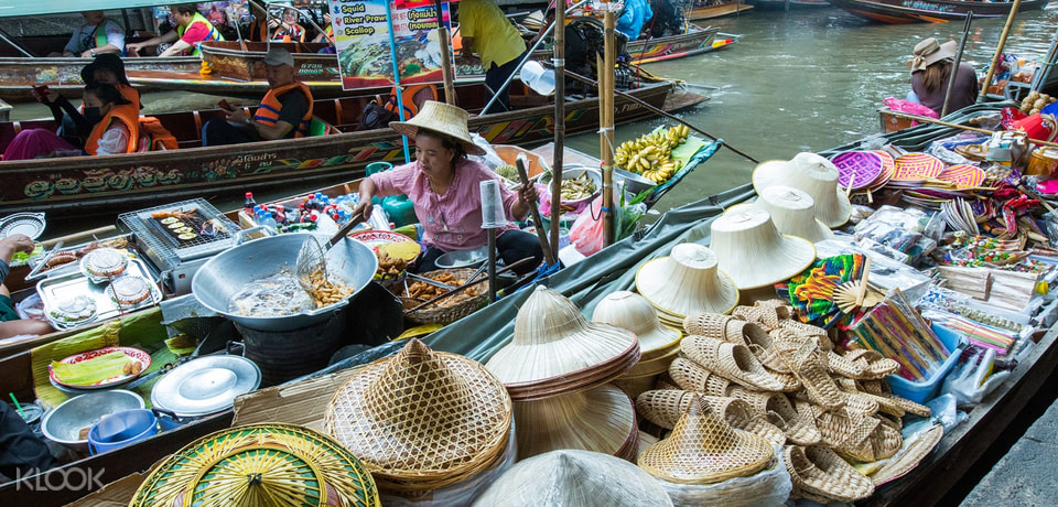 Bangkok Floating Markets Tour