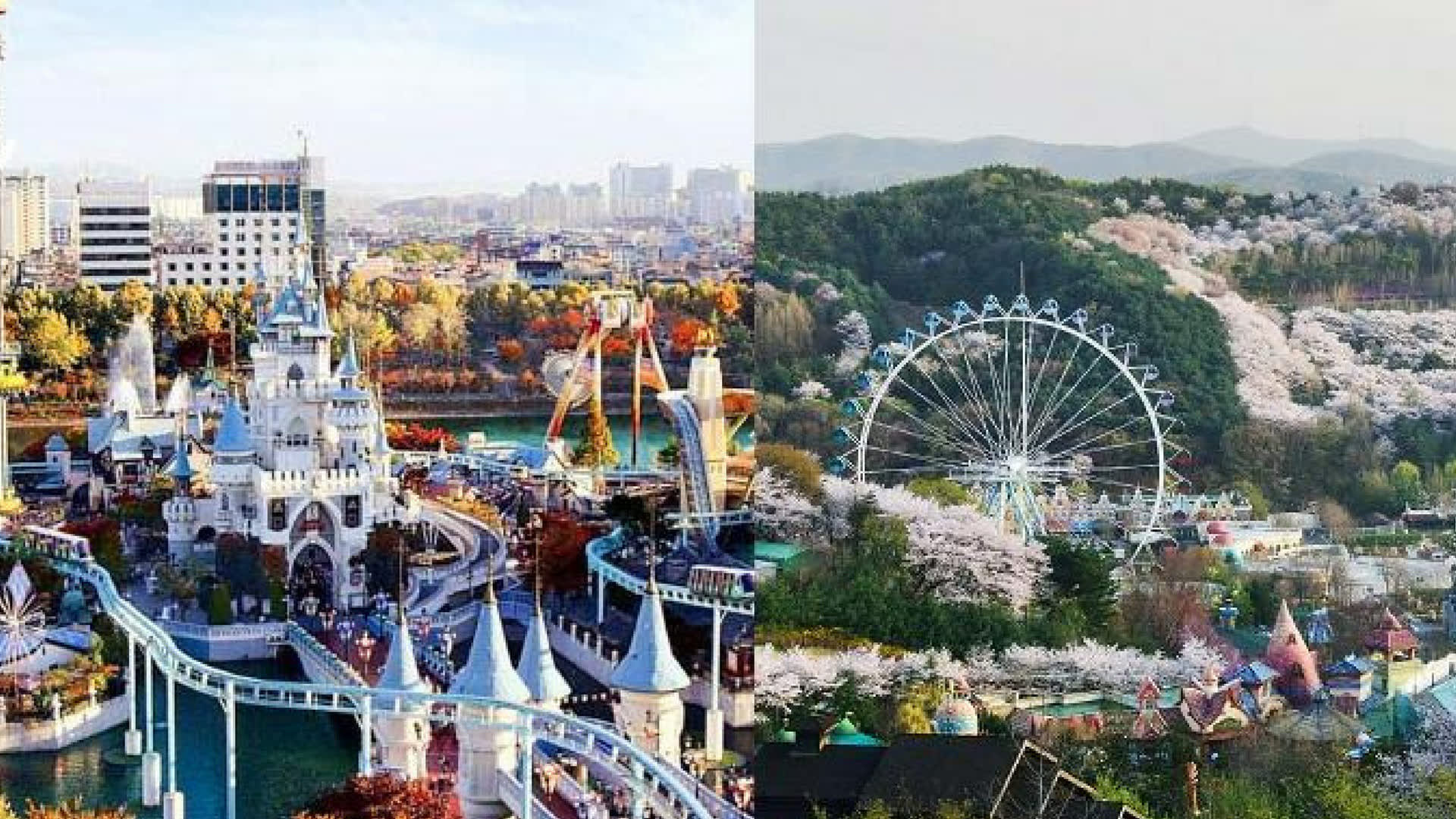 Lotte World & Everland - which Seoul theme park should you