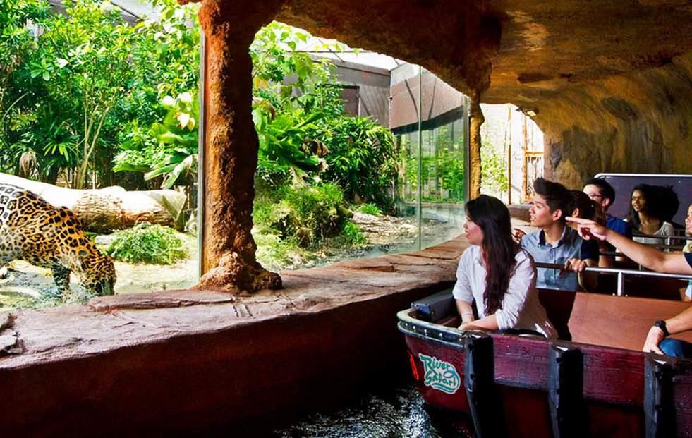 新加坡河川生態園(含船游)