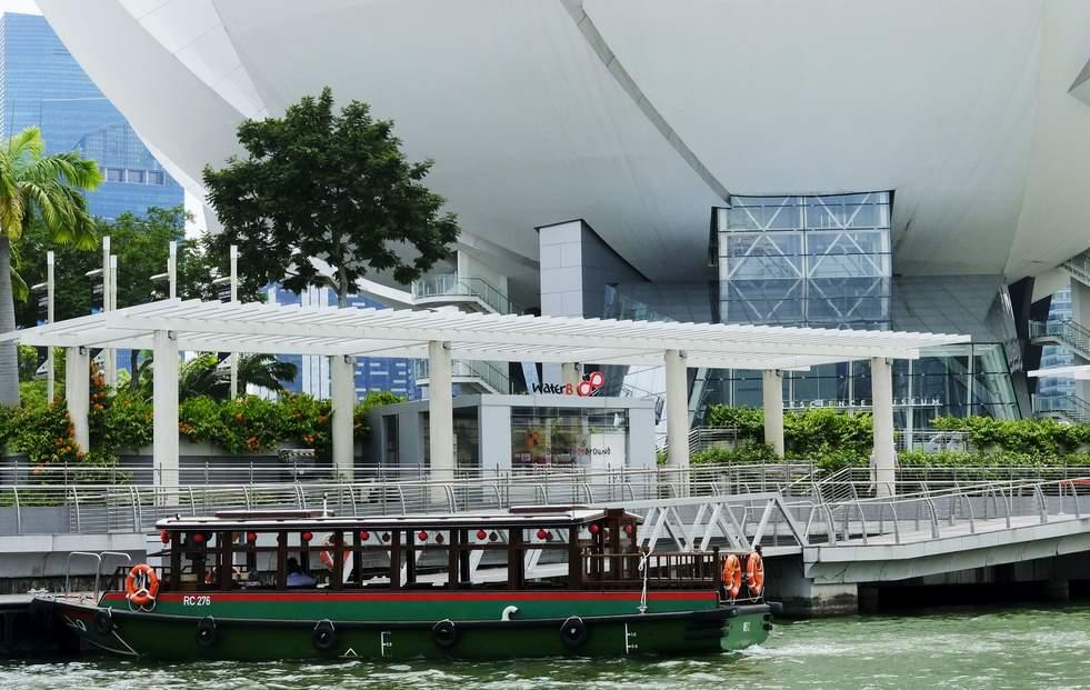 新加坡河遊輪觀光之旅 (WaterB)