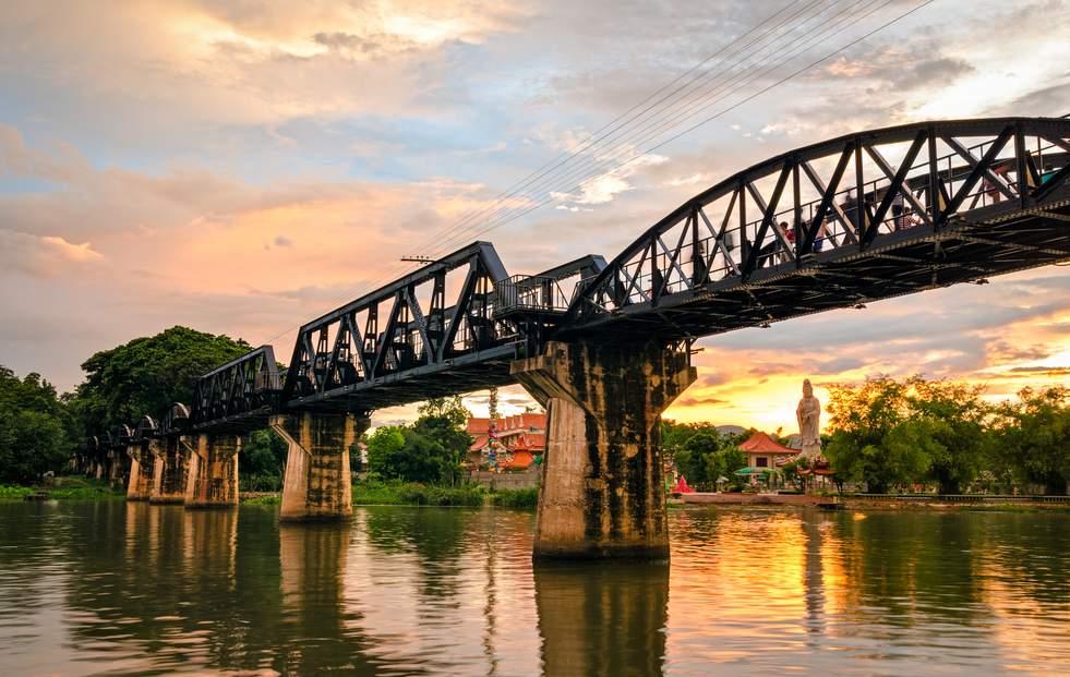 曼谷至北碧府包車自由之旅