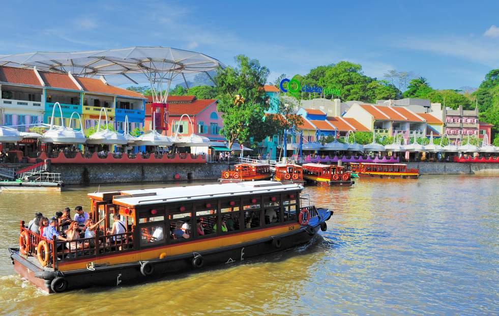 新加坡河遊輪觀光