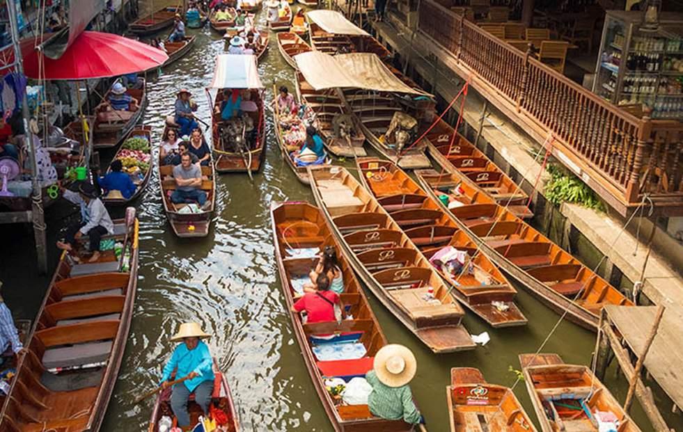 探索丹嫩莎朵水上市場(Oriental Holiday)