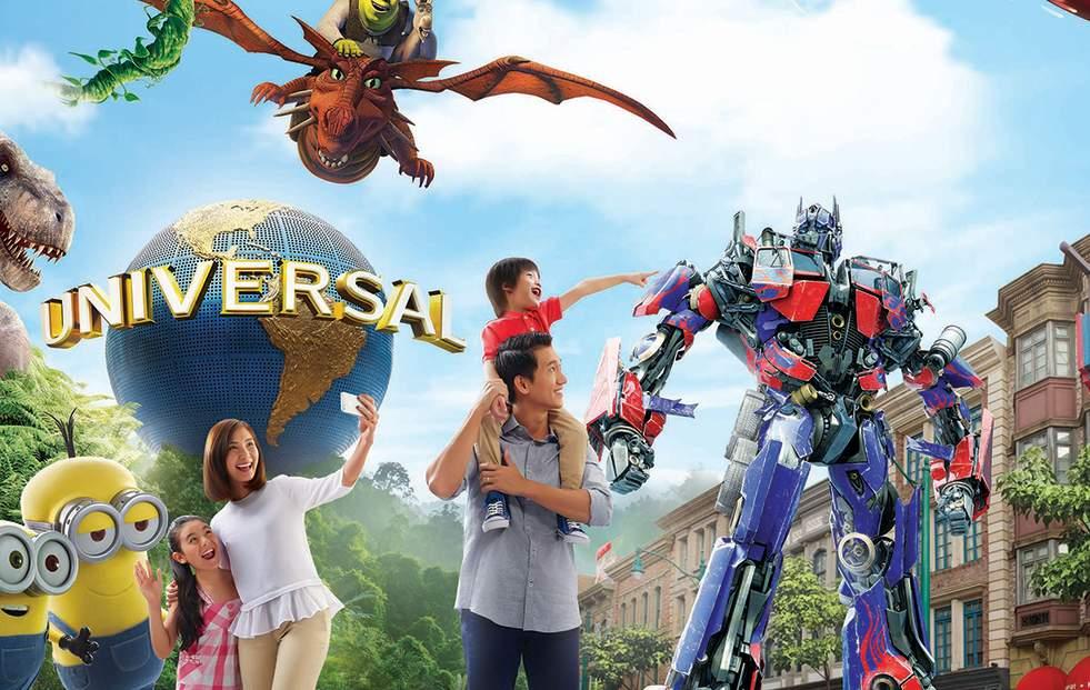 新加坡環球影城™電子門票一日券