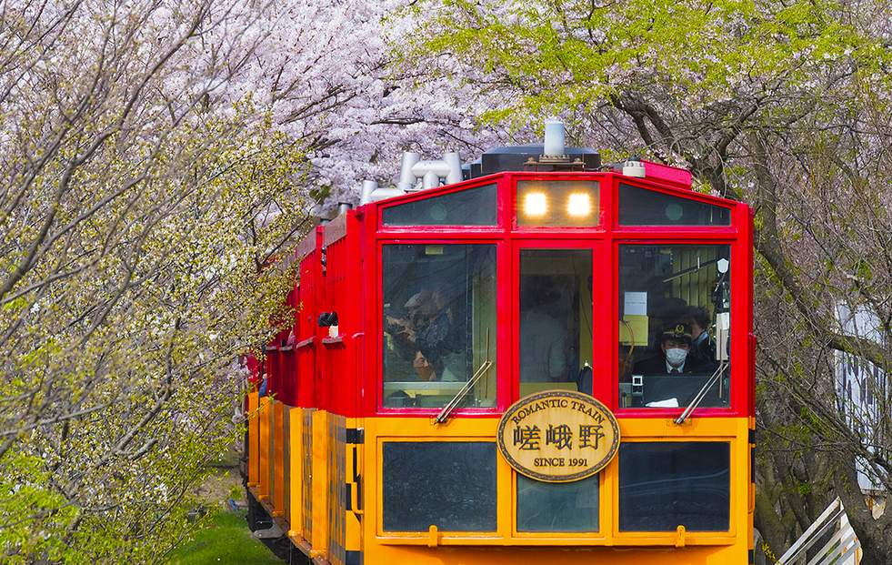 嵐山嵯峨野小火車(關西機場領取)