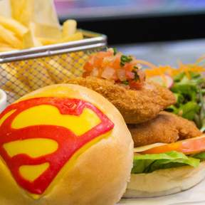 DC Comics Super Heroes Cafe at Marina Bay Sands