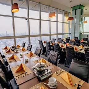 Crystal Grill Buffet in Baiyoke Sky Hotel's 82nd Floor