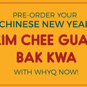 Chinese New Year Bak Kwa Pre-Order (SG Delivery) by WhyQ