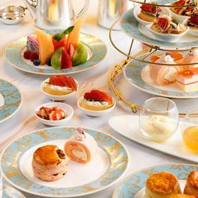 Birdie Paradise Classic Afternoon Tea Set in Lobby Lounge at Kowloon Shangri-La