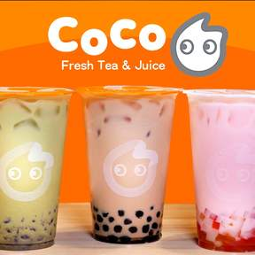 CoCo Fresh Tea & Juice in Bangkok