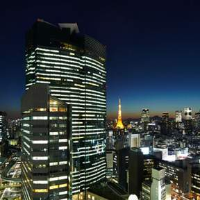 Restaurant Sky at the Mitsui Garden Hotel in Ginza