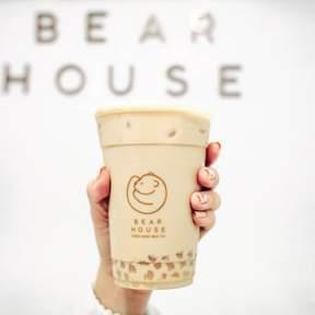 Bearhouse Fresh Boba Milk Tea in Siam