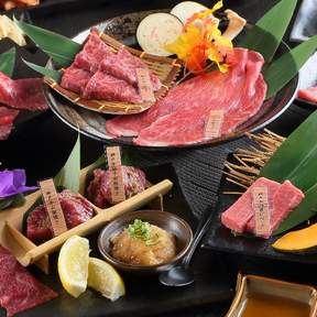 Aburi Bokujo (大阪焼肉 神戸あぶり牧場) Honten Branch in Umeda - Kobe Wagyu Beef Yakiniku BBQ