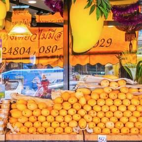 Mae Varee Fruit Shop Mango Sticky Rice at Thong Lo BTS