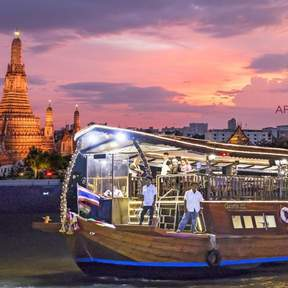 Bangkok Arena River Cruise & Indian Dinner Buffet
