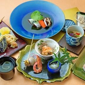 Ginza Kokage (銀座樹蔭) in Ginza - King Crab Kaiseki