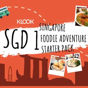 SGD1 Singapore Foodie Adventure Starter Pack