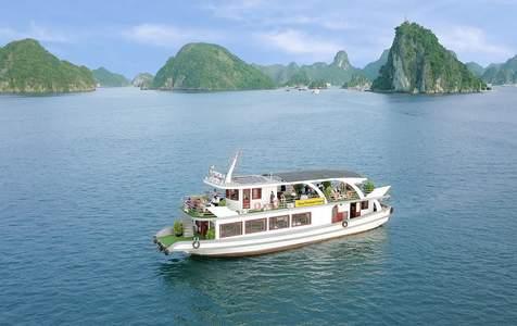 [Khuyến Mãi] Tour Đi Tàu Hana Premium Cruise trên Vịnh Hạ Long từ Hà Nội (bằng Cao Tốc)