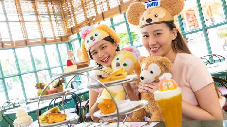 香港迪士尼大街餐廳下午茶