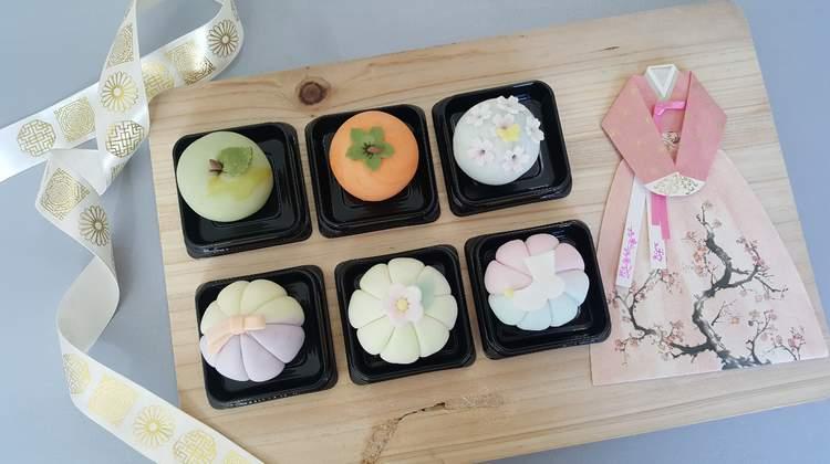 韓國傳統糕點紅豆沙年糕&米花糖製作課程