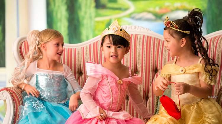 香港迪士尼樂園魔法化妝廳 公主體驗