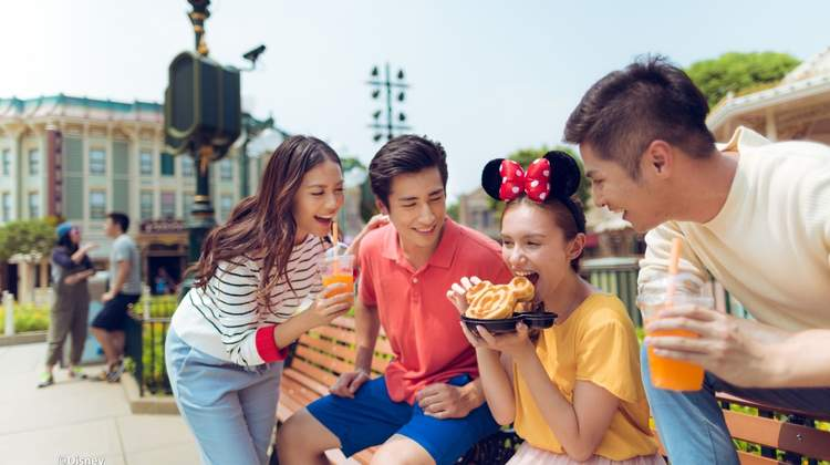 【多款可選】香港迪士尼樂園餐券