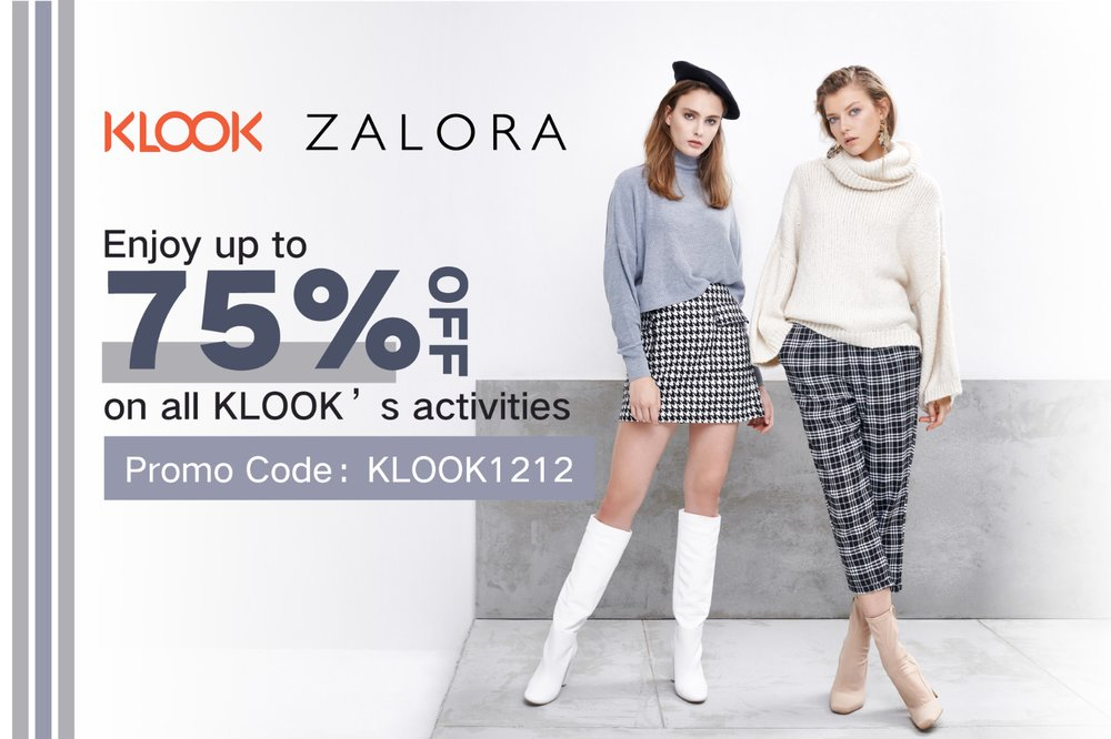 Klook X Zalora 12 12 Promotion Klook