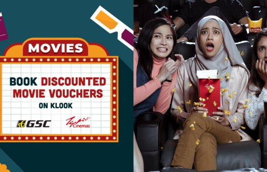Blogheader - Movie Launch Klook Malaysia