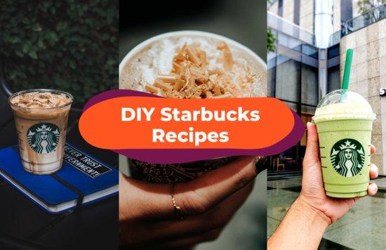 Blogheader - DIY Starbucks Recipes