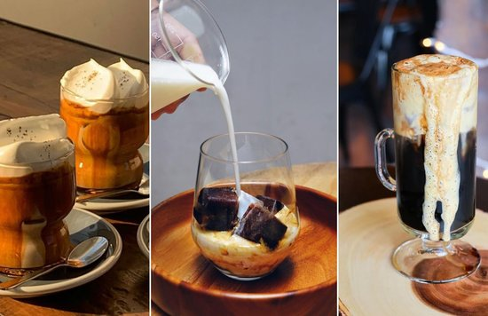 Blogheader - coffee drinks to make at home
