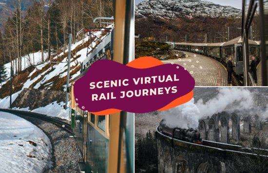 virtual train rides