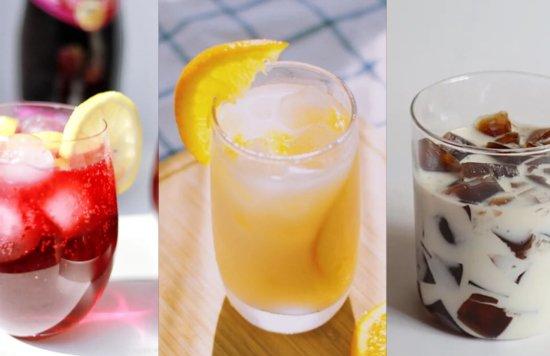 10个简单の自制饮料