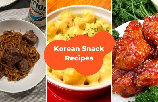 korean snacks recipe