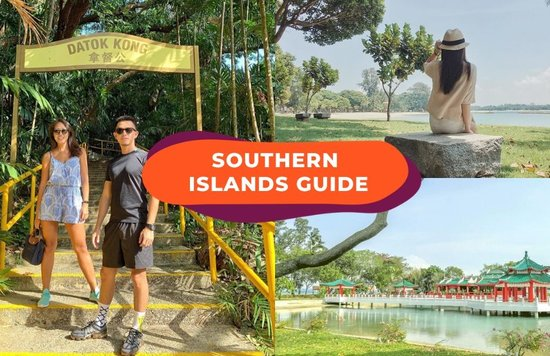 southern islands guide cover image