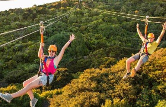 auckland new zealand adventure thrilling adrenaline zip line