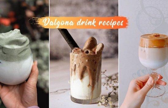 dalgona coffee recipes