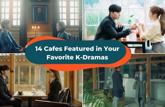 cafes korean drama