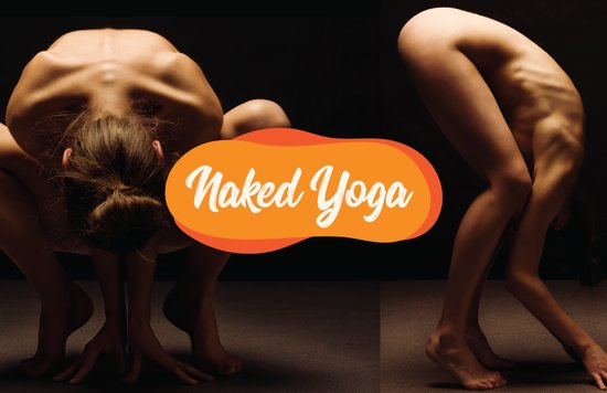 what happens in a naked yoga class