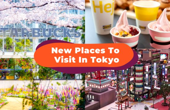 Blogheader - New Places To Visit In Tokyo
